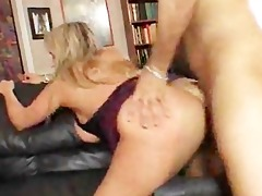 golden-haired d like to fuck done doggy position