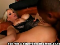 cheating mamma oral sex and tit fuck