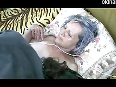 old granny receive pussy licked by youthful boy