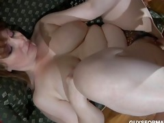 thick older creampie