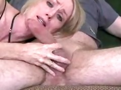 dilettante older wife gives great oral-stimulation