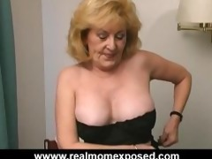 breasty aged drilled hard at the motel