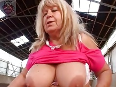 aged full mummy seduces the sons ally at the