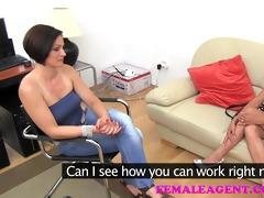 femaleagent slits aching for attention