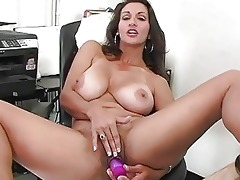 enormous chested brunette hair mother i plays