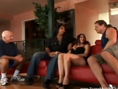 sultry dark brown milf swings for hubby