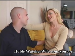 hubby watches wife fuck juvenile dude