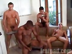 frat jerkoff session!