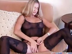 fantastic wife expecting patiently for large dong