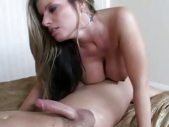 alluring super hot breasty golden-haired milf