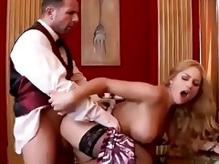 hard anal test drive for one bigtits older lady