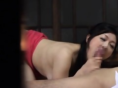 hawt asian d like to fuck receives lewd engulfing