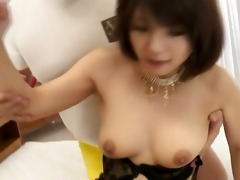 double load in throat for azumi harusaki after