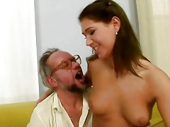 grandpapa enjoying naughty sex with hot legal age