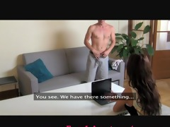 femaleagent. mother i exploits shy chap in casting