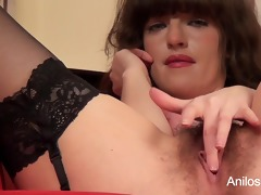st agonorgasmos clip for unshaved cum-hole mother