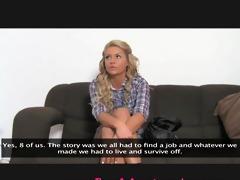 femaleagent. reality tv chick tries porn.