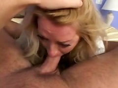 y.o. golden-haired mature lady sexy sex (pov)
