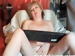 610 years granny louise fingering at home