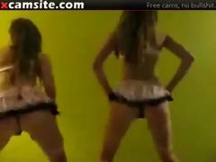 insane dance and a-hole shaking on web camera