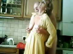mum and daddy having joy in the kichen. stolen