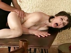 nasty granny enjoys hard fucking