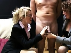 cfnm jerking loving business ladies being nasty