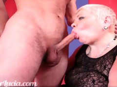 mature large nice-looking woman doxy fuck young