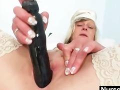ribald nurse d like to fuck nada bonks herself