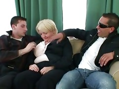chaps gangbang absolutely drunk granny