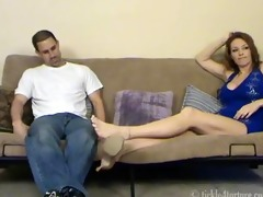 hot footjob and tickling!!