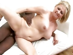 blond mother i sucks and bonks a large dark cock