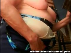 granny engulfing the large pounder reasly