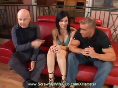 swinger wife acquires drilled as hubby watches