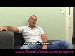 femaleagent. hawt foot fetish casting