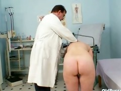 older old fur pie gyno speculum scrutiny with