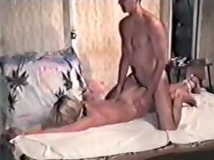 blonde in dilettante homemade sadomasochism tape