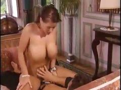 sandra brust rides a large pounder