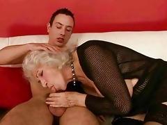 sexy breasty grandma fucking a boy