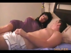 mamma gives tugjob to son milfzr.com