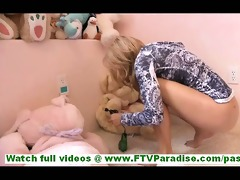 ashley slender youthful blond with diminutive