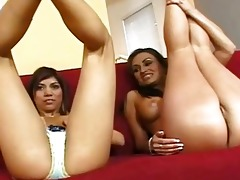 milf devon and small daughter teasing