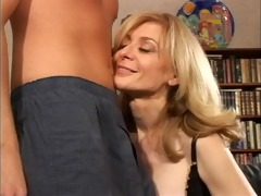 blonde mother id like to fuck disrobes for