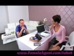 femaleagent. mother i seduces hesitant fellow