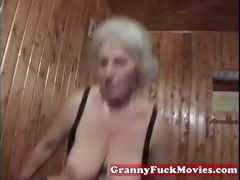 a sexually excited granny fuckbitch