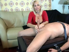 dominant d like to fuck gives femdom cook jerking