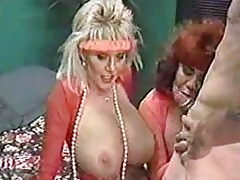 mother and aunt share sons large cock