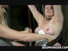 femdom suspension wax and fist
