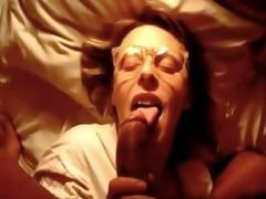 darksome penis empties a large jizz flow load