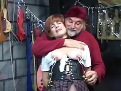 sexy, aged redhead receives her cookie toyed